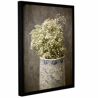 """Lace in Lace Framed Photographic Print Lark Manor Size: 18"""" H x 14"""" W x 2"""" D"""