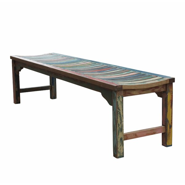 Bowley Wood Bench by Rosecliff Heights Rosecliff Heights