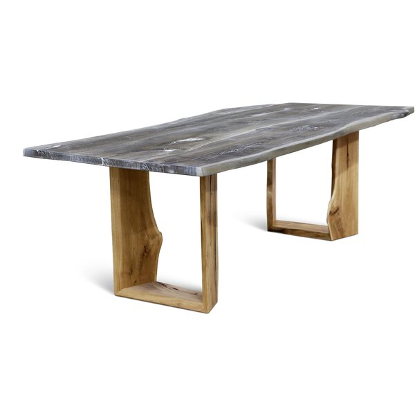 Marceline Solid Wood Dining Table by Loon Peak