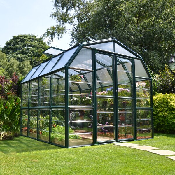 Grand Gardener 2 Clear 8 Ft. W x 8 Ft. D Greenhouse by Rion Greenhouses