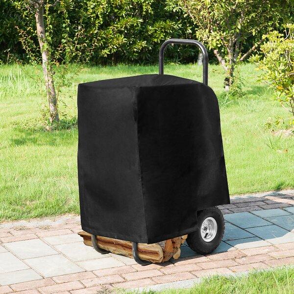 Barnesville Firewood 1.4 Ft. X 1.8 Ft. Vinyl Log Cart Cover By Freeport Park