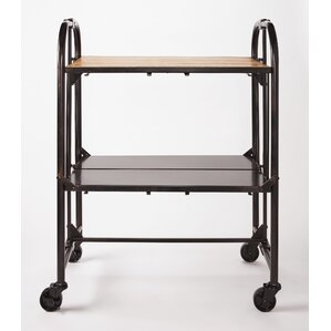 Southampton Folding Bar Cart by Red Barrel Studio