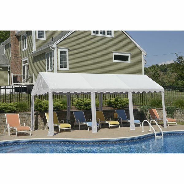 10 Ft. W x 20 Ft. D Steel Party Tent by ShelterLog