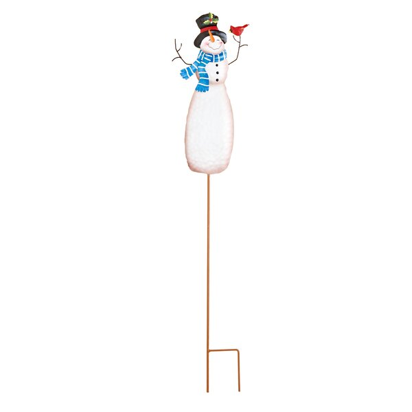 Metal Snowman Stick by Worth Imports