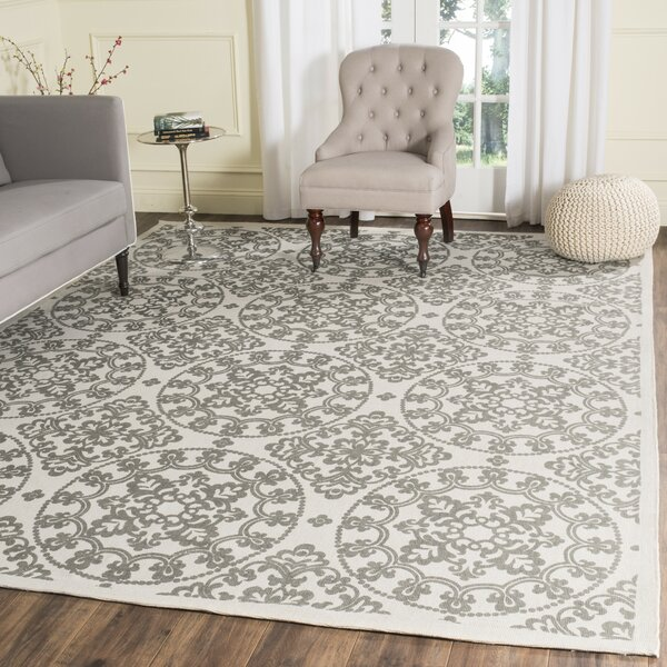 Charing Cross Hand-Loomed Natural / Grey Area Rug by Charlton Home