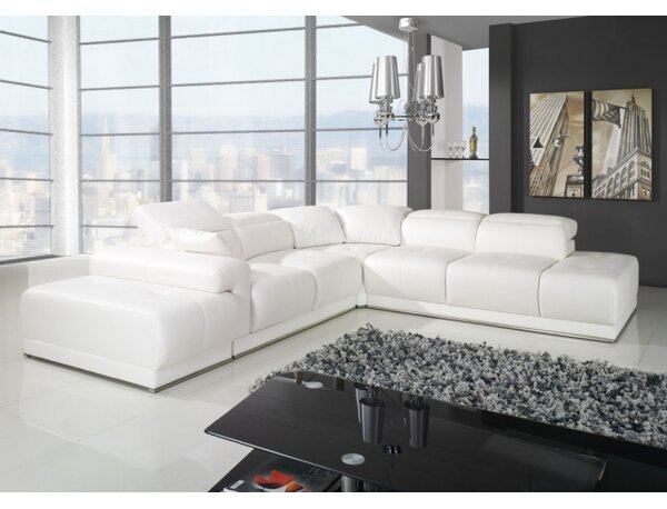 Vangorder Sleeper Sectional With Ottoman By Orren Ellis