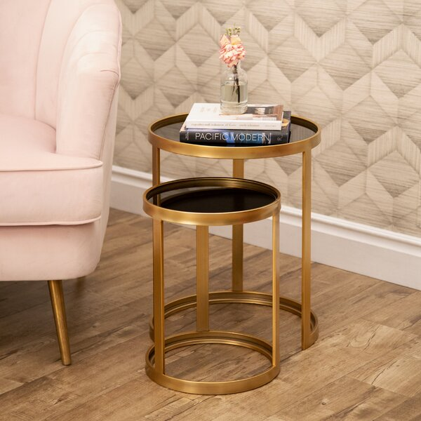 Lapidge 2 Piece Nesting Tables By Mercer41