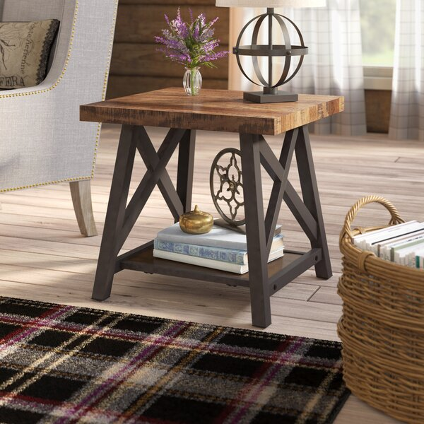 Silvis Trestle End Table By Laurel Foundry Modern Farmhouse
