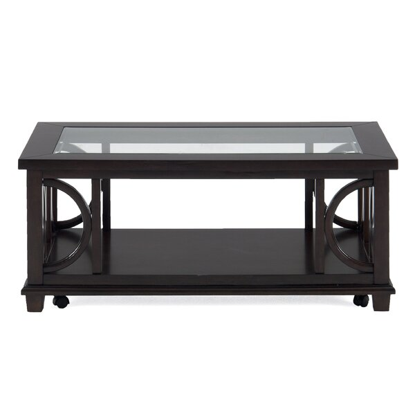 Blevens Wooden Coffee Table by House of Hampton