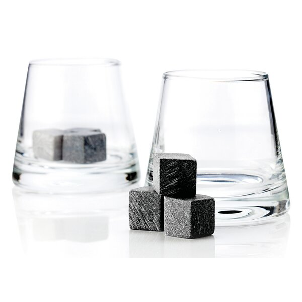 Glacier Rocks® 8 Piece 8 oz. Soapstone Cube and Tumbler Set by Viski