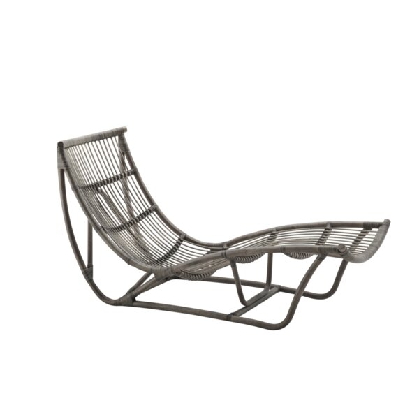 Pranay Chaise Lounge by Bungalow Rose Bungalow Rose