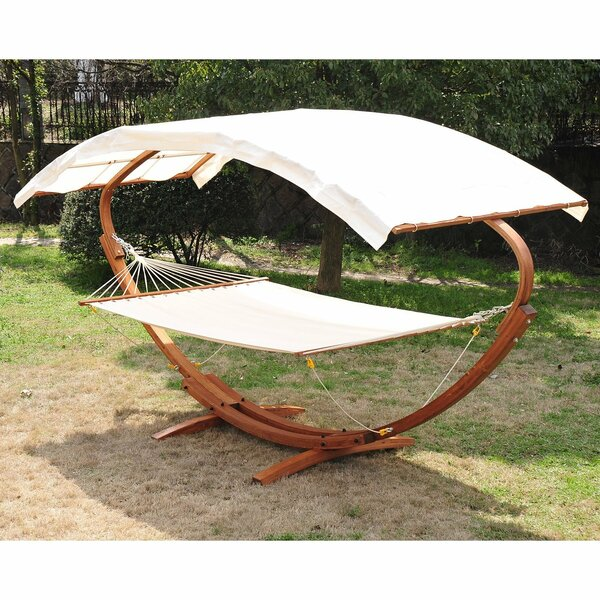 Double Hammock with Stand by Outsunny Outsunny