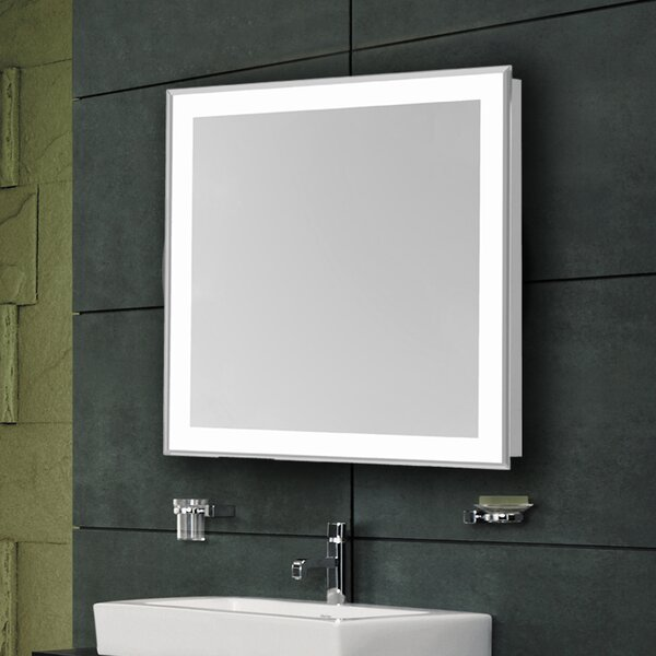 Edge Electric Bathroom/Vanity Mirror by Latitude Run