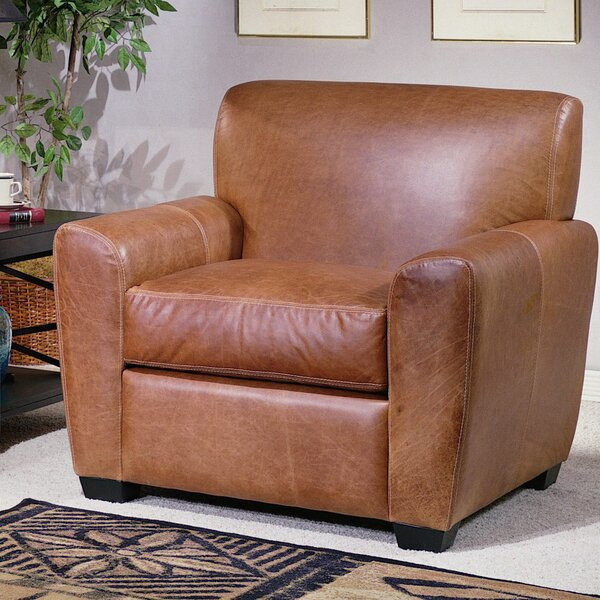 Jackson Armchair by Omnia Leather