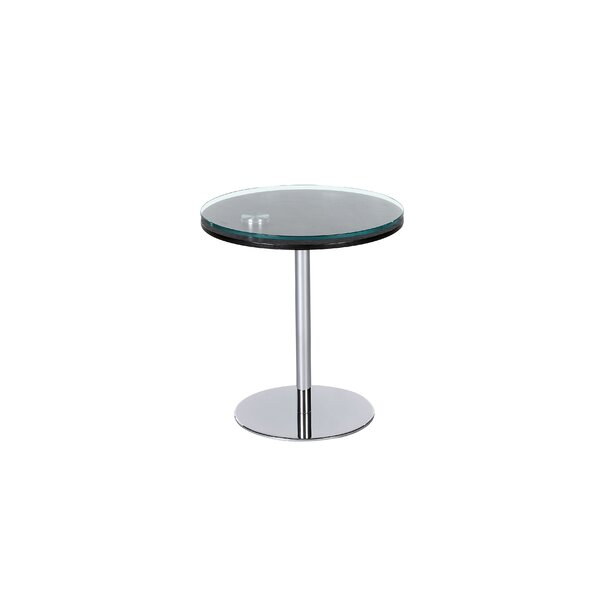 Motion End Table by Chintaly Imports