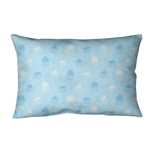 Leffel Cupcake Indoor/Outdoor Lumbar Pillow