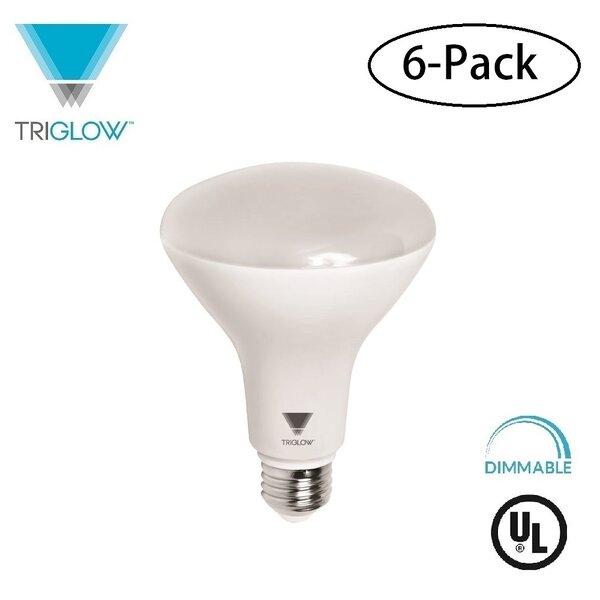 65W Equivalent E26 LED Spotlight Light Bulb (Set of 6) by TriGlow