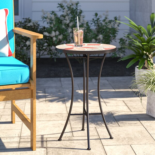 Kindle Iron Side Table by Breakwater Bay
