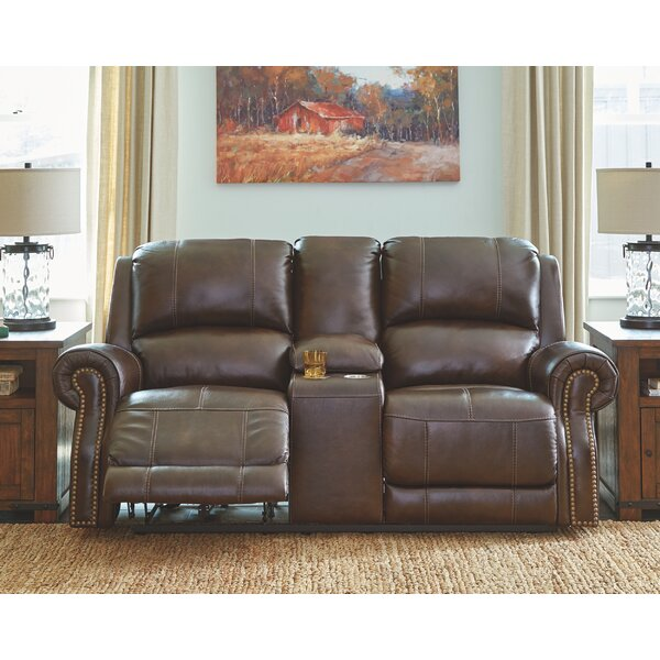 Best Quality Duong Reclining Loveseat by Millwood Pines by Millwood Pines