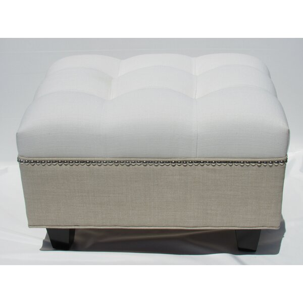 Orman Tufted Ottoman by Winston Porter