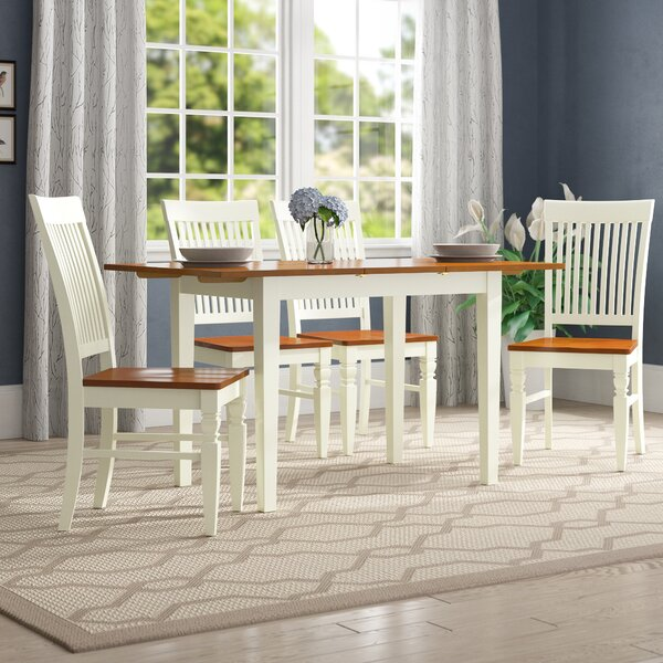 Balfor 5 Piece Extendable Breakfast Nook Dining Set by Andover Mills