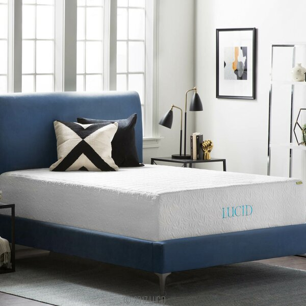 16 Plush Gel Memory Foam Mattress by Lucid