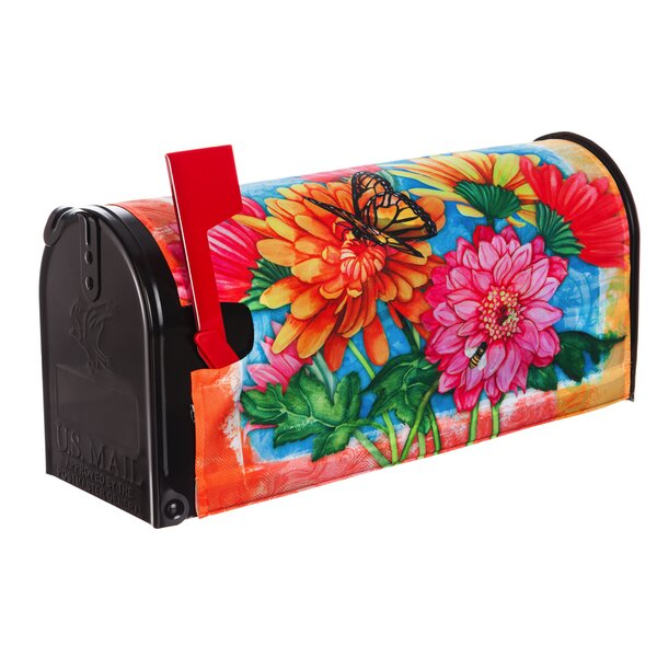 Welcome Mailbox Cover by Evergreen Flag & Garden