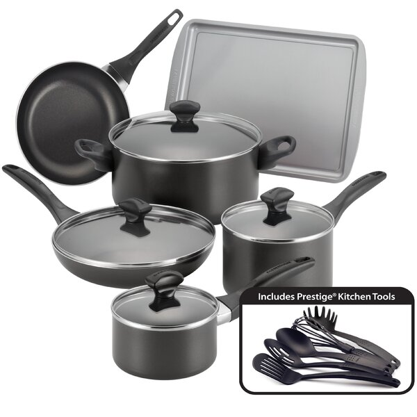 Non-Stick 15 Piece Cookware Set by Farberware