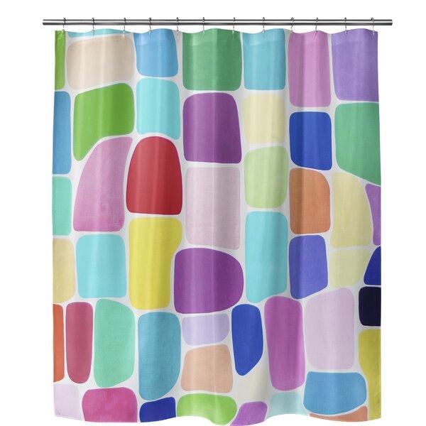Yara Color Galore Shower Curtain by Latitude Run