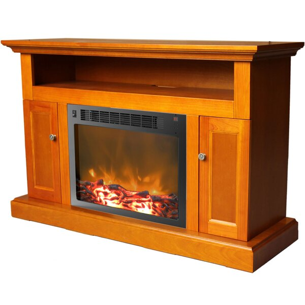 Duchene 47 TV Stand with Fireplace by Red Barrel Studio