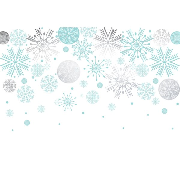 Benites Foil Snowflake 18 Placemat (Set of 20) by Winston Porter
