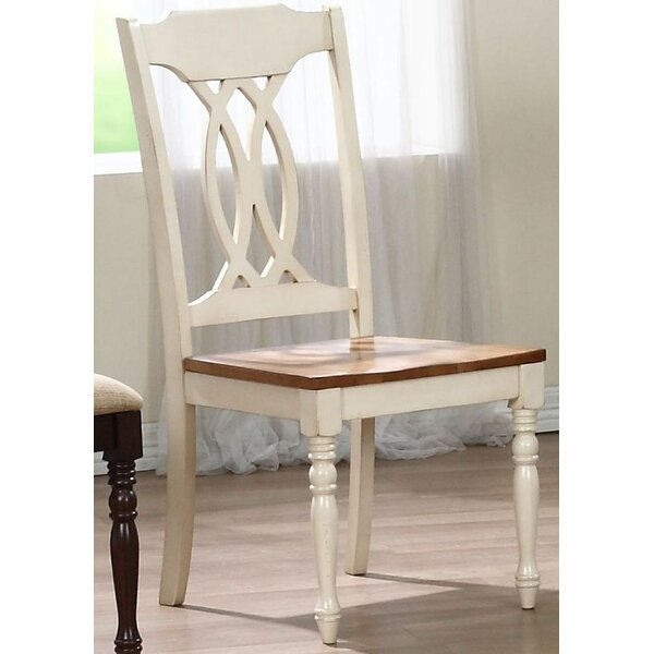 Transitional Solid Wood Dining Chair (Set of 2) by Iconic Furniture