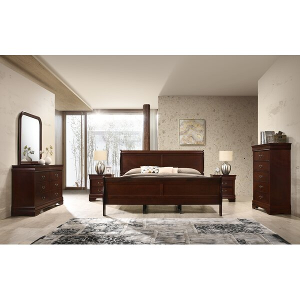 Braiden Sleigh 6 Piece Bedroom Set by Charlton Home