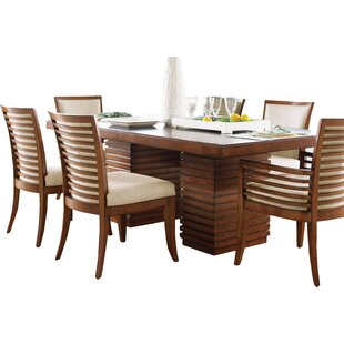 Ocean Club Peninsula Dining Table. By Tommy Bahama Home