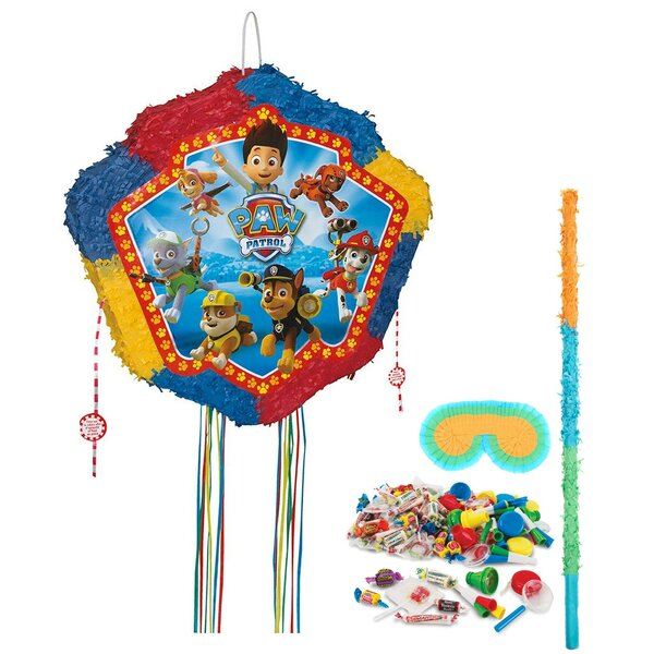 1 Piece Paw Patrol Pinata Paper Disposable Decoration Kit Set [NA]