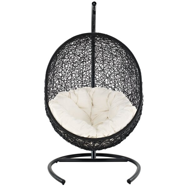 Encase Swing Chair with Stand by Modway