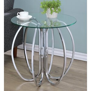 Isadora End Table by House of Hampton