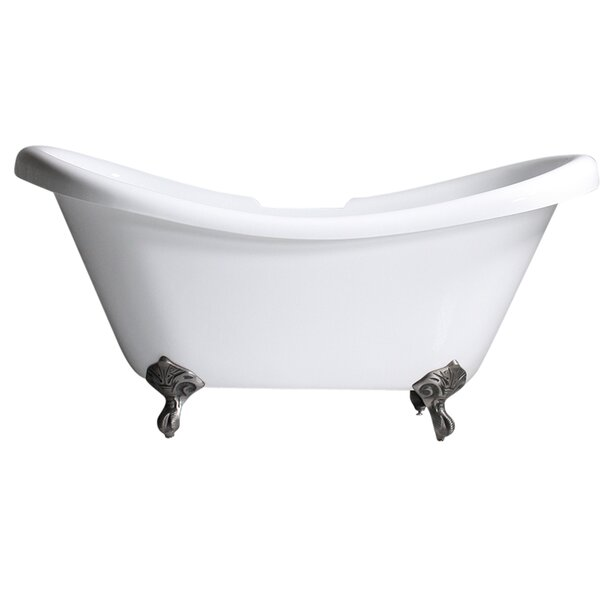 Hotel Acrylic 67 x 32 Freestanding Soaking Bathtub by Baths of Distinction
