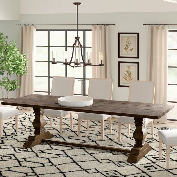 Trestle Solid Wood Dining Table by Design Tree Home Design Tree Home
