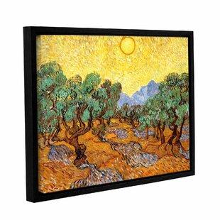 Olive Trees by Vincent Van Gogh Art Print on CANVAS Fine Art Wall Decor 8x10