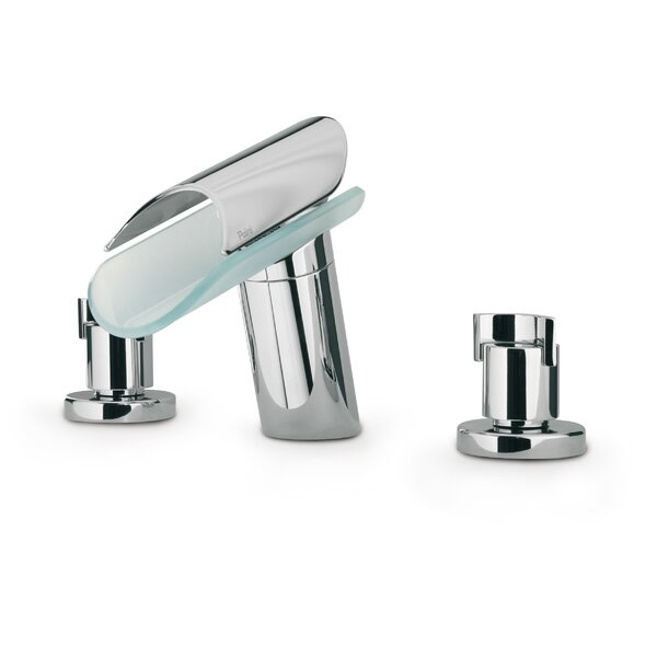 Morgana Deck Mount Widespread Lavatory Faucet with Spout