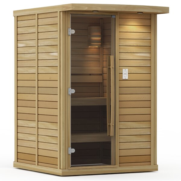 Goldstar 2 Person Traditional Steam Sauna by Premium Saunas