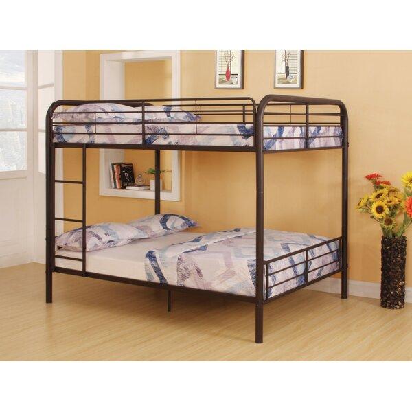 Lauier Metal Full over Full Bunk Bed by Harriet Bee