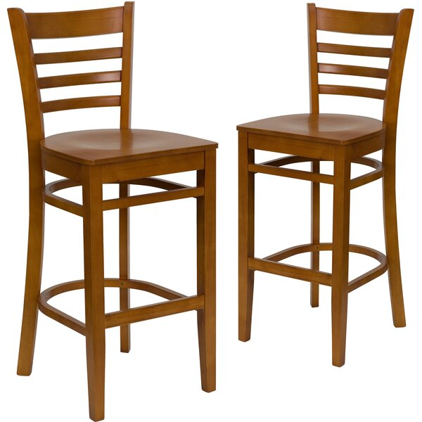 Loughran 30 Bar Stool (Set of 2) by Red Barrel Studio