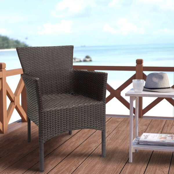 Rochers Stacking Patio Dining Chair (Set of 2) by Charlton Home