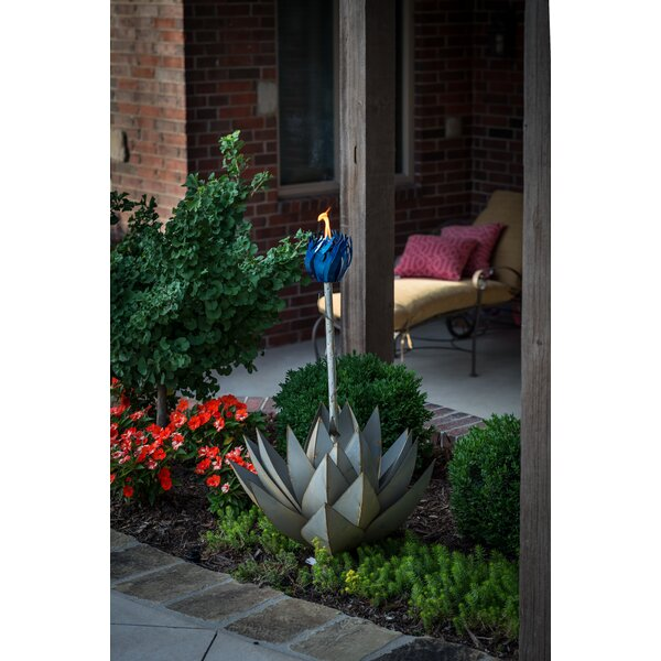 Agave Garden Torch by Desert Steel