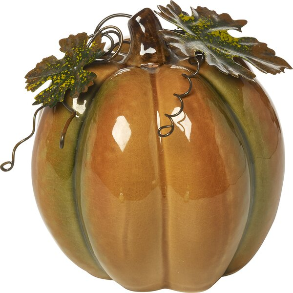 Bountiful Blessings Porcelain Pumpkin by Precious Moments