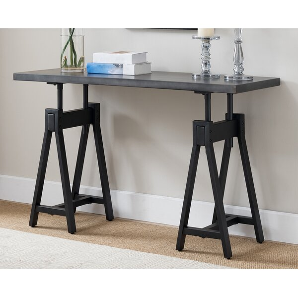 Tobias Console Table by 17 Stories