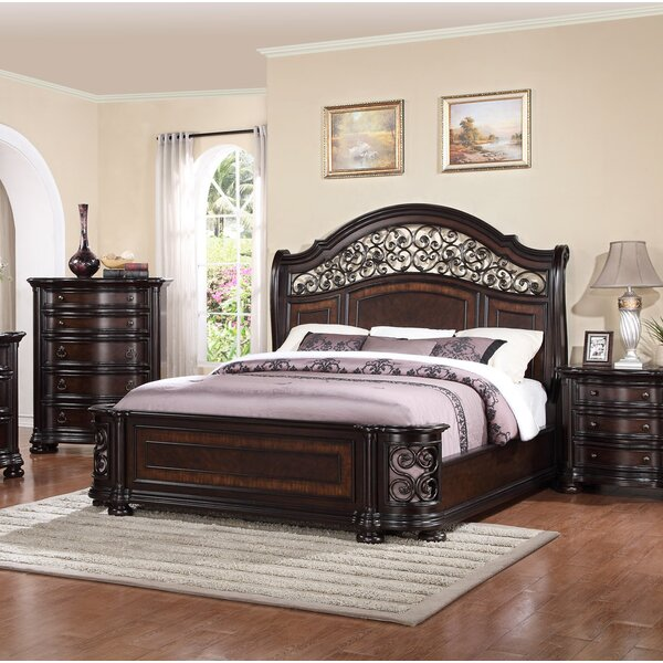 Winkelman King Standard Bed by Fleur De Lis Living