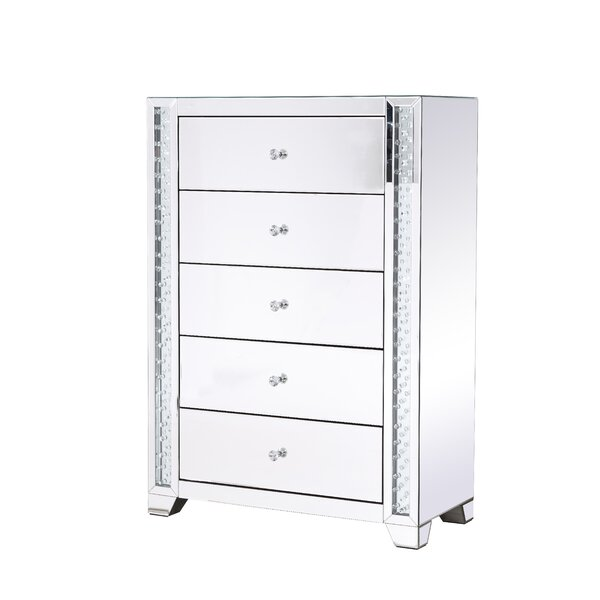 Abeyta 5 Drawer Accent Chest by Rosdorf Park